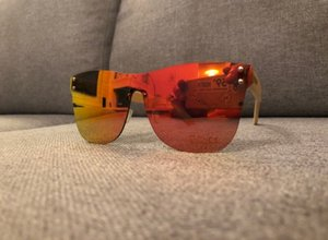 59°North Wheels frameless solglasögon Röd/orange