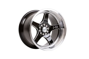 "59°North Wheels D-004 11x18"" ET15 5x114/5x120 Black/champer"