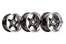 "59°North Wheels D-004 9,5x18"" ET20 5x114/5x120 Black/champer"