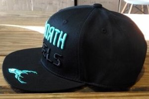 59°North Wheels Snapback Black