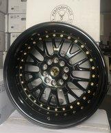 """59°North Wheels D-003 9,5x18"""" ET20 5x114/5x120 Glossblack"""