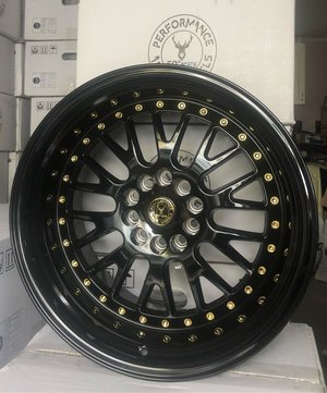 "59°North Wheels D-003 9,5x18"" ET20 5x114/5x120 Glossblack"