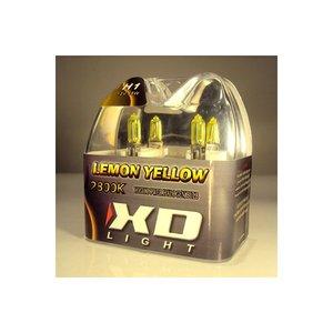 H3 LEMON YELLOW BULBS 4200K - 55W- PAIR IN BOX