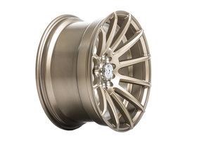 "59°North Wheels D-005 8,5x17"" ET20 5x114,3/5x120 Mattebronze"