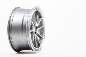 """59°North Wheels S-001 8,5x19"""" ET38 5x112 Matte gunmetal/Matte polish"""