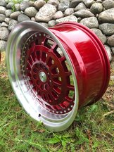 """59°North Wheels D-007 9,5x19"""" ET25 5x114/5x120 Candyred/polished"""