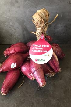 Cipolla Rossa di Tropea IGP slut för säsongen
