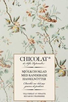 Mjölkchoklad med kanderade hasselnötter 85g