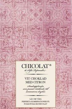 Vit choklad med citron 85g Tillfälligt slut!