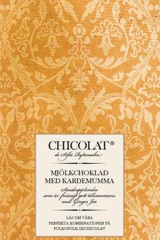 Mjölkchoklad med kardemumma 85 g