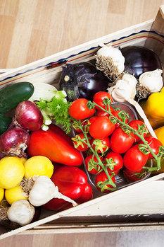 Misto frukt & grönt 4kg Italien + EV olivolja