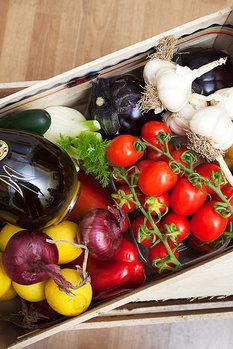 Misto frukt & grönt 6kg Italien + EV Olivolja 0,5 l