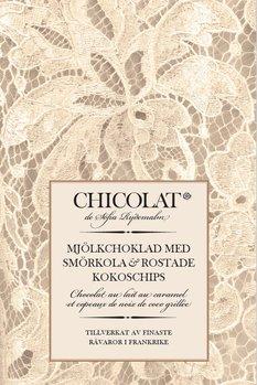Mjölkchoklad med smörkola och rostade kokoschips 85g Tillfälligt slut!