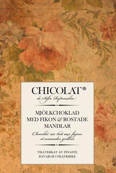 Mjölkchoklad med fikon och rostade mandlar 85g Tillfälligt slut!