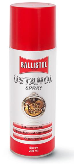 Ustanol Klockolja, Spray 200 ml