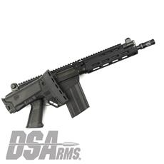 "DSA SA58 Improved Battle Weapon - 11"" Barrel, BRS PARA Stock Rifle"