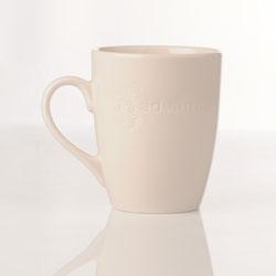 Kaffemugg vit 1=12st