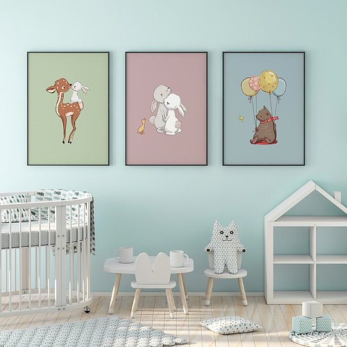 Pictures for the kid's room  SHOP NOW