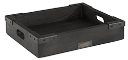 THE BAKERY TRAY Black (2 size)