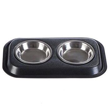 Hel matbar med 2 skålar.