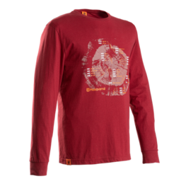 Husqvarna Xplorer T-shirt långärmad lingonröd