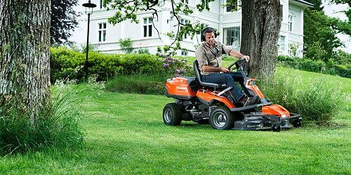 En arbetshäst för trädgården. Se våra kampanjpriser på populära åkgräsklippare.
