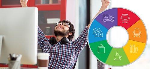 Komplett leverantör till kontoret Professionella produkter och tjänster till din arbetsplats
