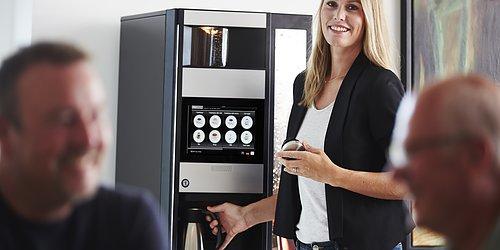 Kaffemaskiner  - lösningar för fikarummet