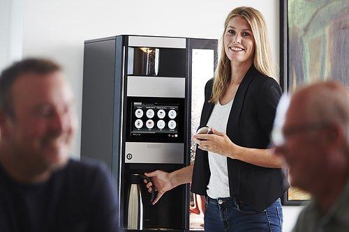 Kaffemaskiner & vattenautomater  - lösningar för fikarummet