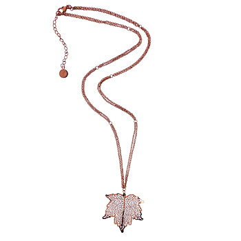 Nature Divine Necklace Midi , Rose gold