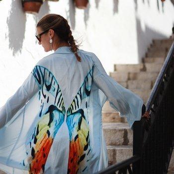Kimono Transcendence | 100% siden & 100% vegansk