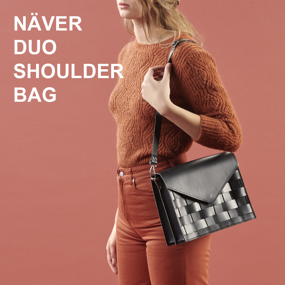Eduards Accessories Näver Small Shoulder Bag in Nature