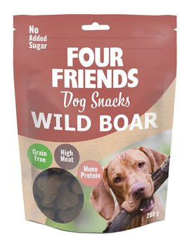 Four Friends Dog Snacks  Wild Boar  200gr