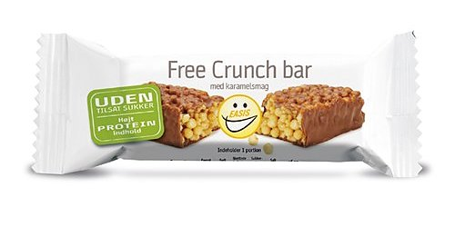 VECKANS VARA 10-PACK BAR CRUNCH KARAMELL 35G EASIS x 10 st