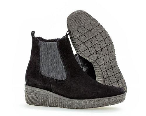 Gabor Ankel boots Black Ergonomiska GABOR SPECIAL ERBJUDANDE
