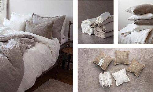 Axlings Linne Sängkläder - Lavendelkuddar