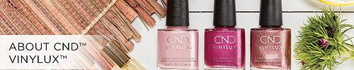 CND VINILUX NAGELLACK  Stort utbud ifrån CND nagelvård
