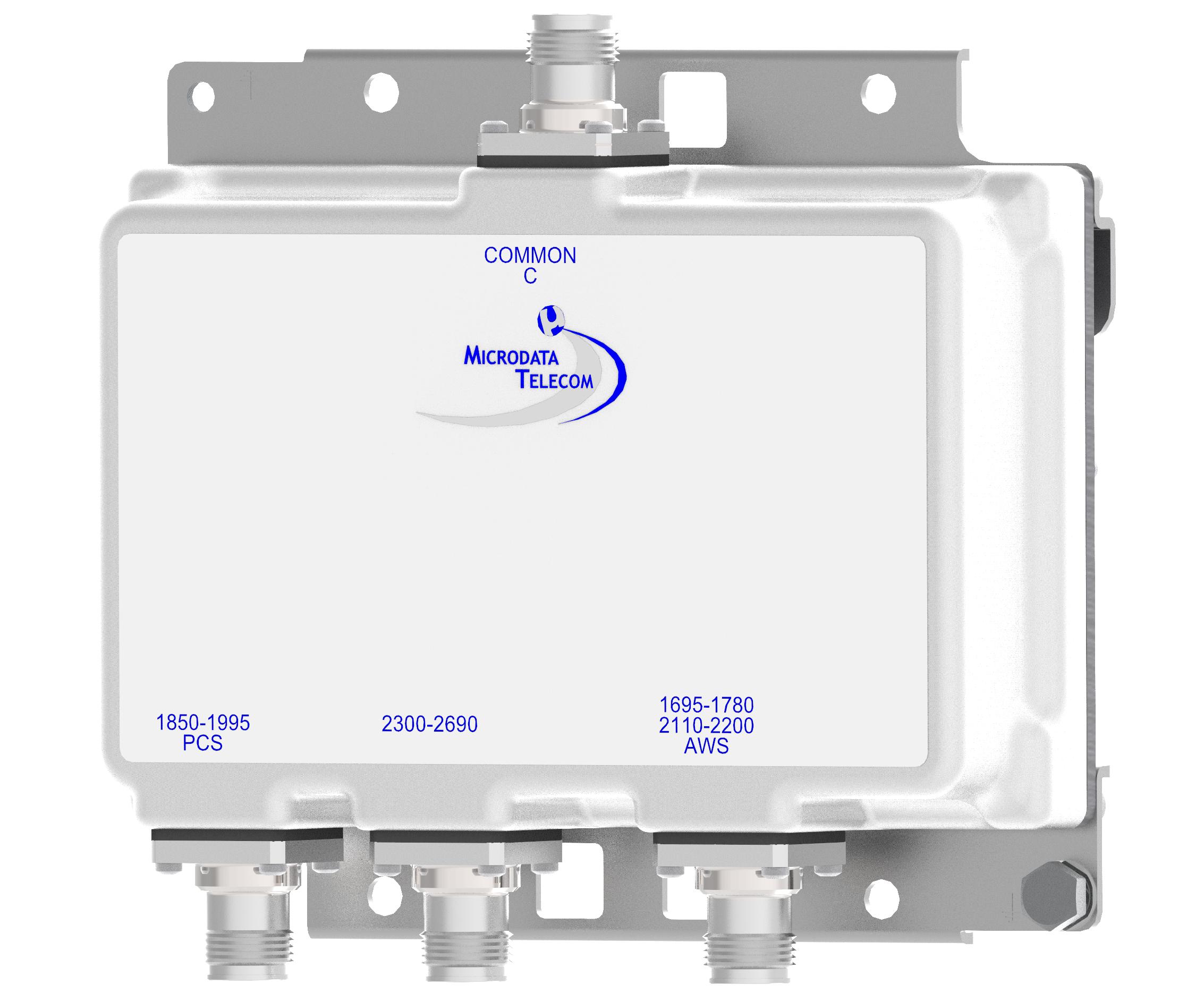 Triplexer AWS/PCS/2300-2600 MHz - Microdata Telecom