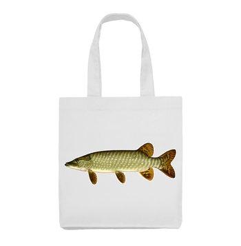 Gädda fisk djur 1 - Tygväska