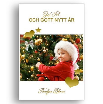 Egen bild egen text egen design 3 - Jul vykort