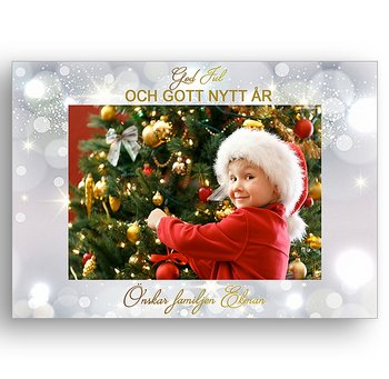 Egen bild egen text egen design 6 - Jul vykort