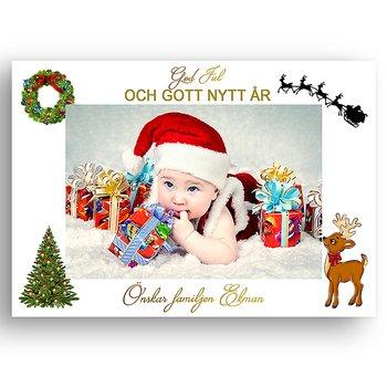 Egen bild egen text egen design 7 - Jul vykort
