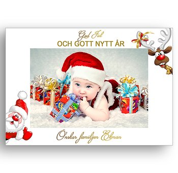 Egen bild egen text egen design 8 - Jul vykort
