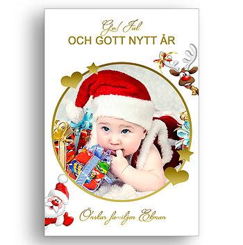 Egen bild egen text egen design 9 - Jul vykort