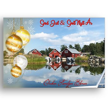 Egen bild egen text egen design 11 - Jul vykort