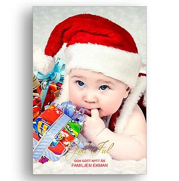 Egen bild egen text egen design 12 - Jul vykort