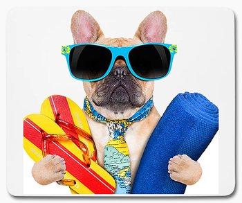 Hund på semester 1 musmatta