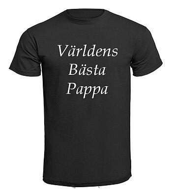 T-shirt - Världens bästa pappa