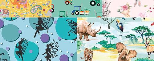 Vårens nya barntrikåer! Bara nya mönster