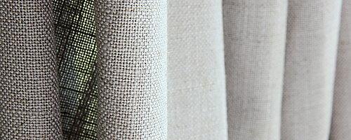 Hemtextil  Metervaror för fönstret inne